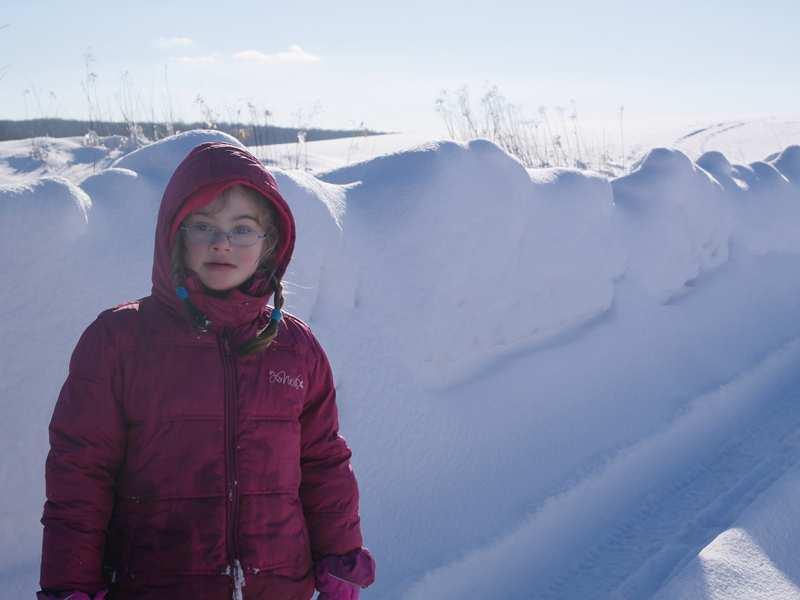 gyermeknyi hó