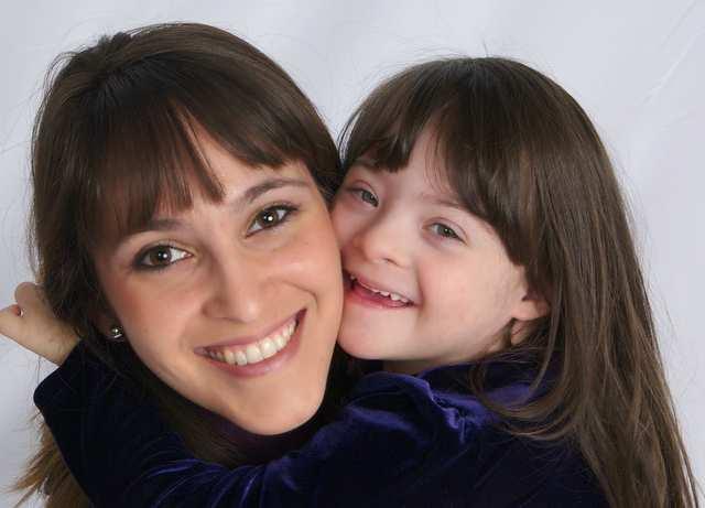 Ellen Stumbo és Down-szindrómás lánya
