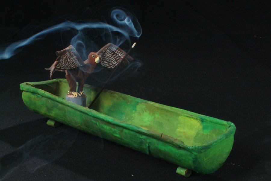 Sasos füstölőtartó
