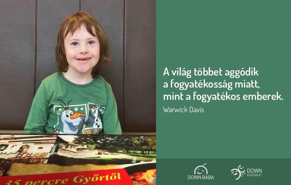 idézetek fogyatékosságról Gondold újra, amit a fogyatékosságról hittél   Down szindrómával