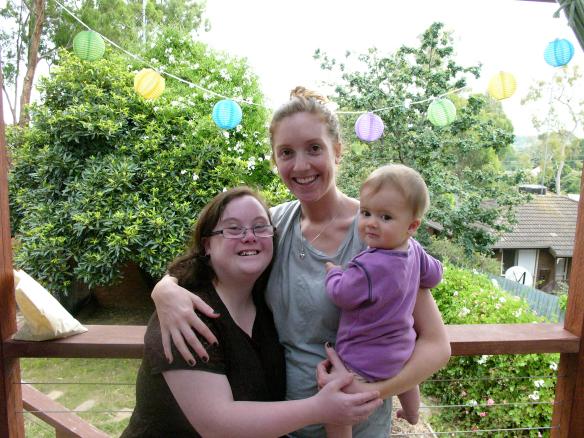 Emily, Lucy és Lucy egyik gyereke