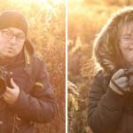Fotópárbajra hívta Down-szindrómás lányát a fényképész apa