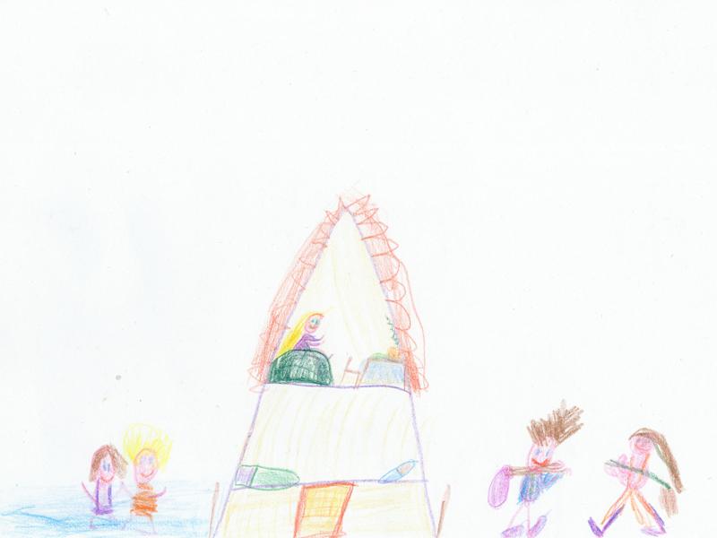 emeletes sátor