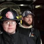 """""""Mindig is a veszélyeset szerettem"""" – a Down-szindrómás tűzoltó valóra váltotta az álmát"""